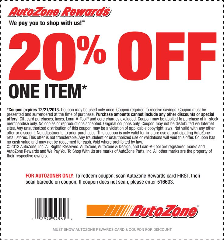 Autozone battery discount coupons