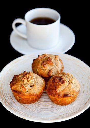 Whole Wheat Pineapple Peach Muffins Recipe — Dishmaps