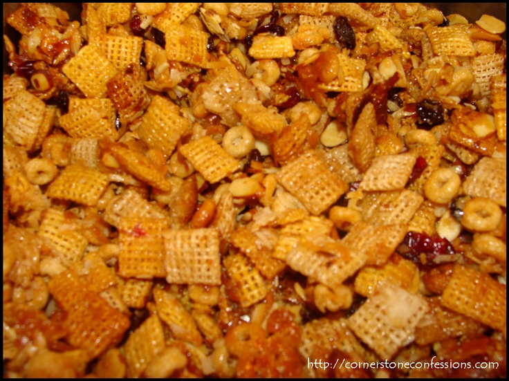 Christmas Crunch Snack Mix | Recipe