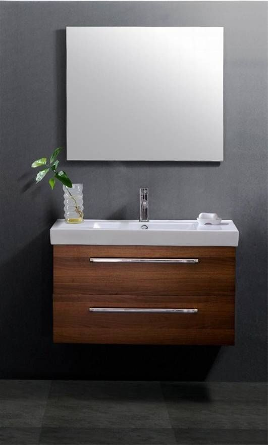 Love The Grey Background Serenity Wall Mount Vanity Unit
