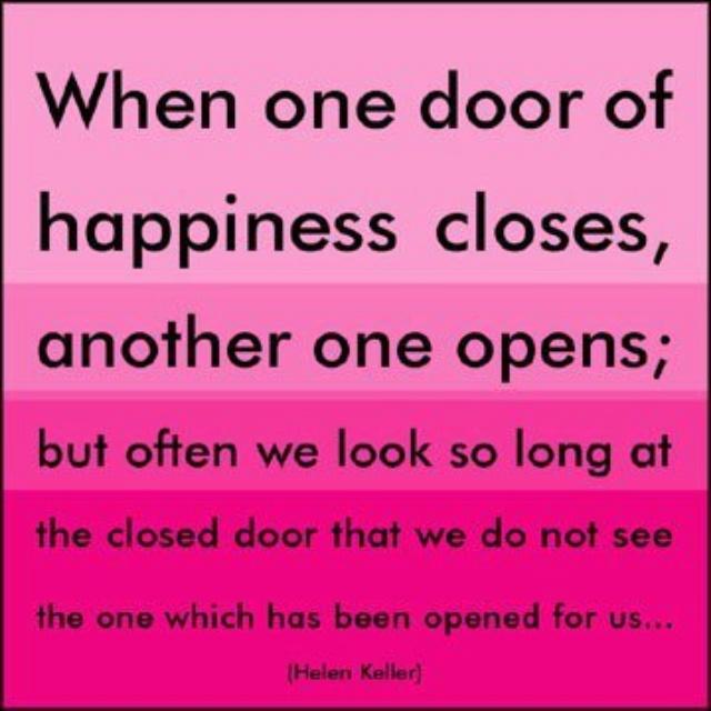 When one door closes...  quotes  Pinterest