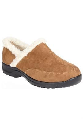 Wide Width Dandie clogs by Comfortview   Shoes by Brand from Roamans