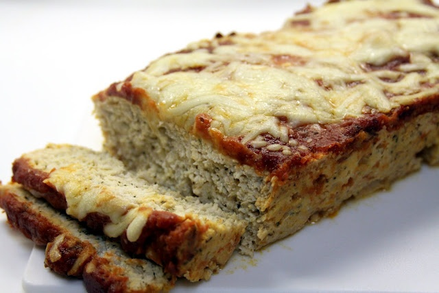 Turkey Meat Parmesan Meatloaf | Food | Pinterest