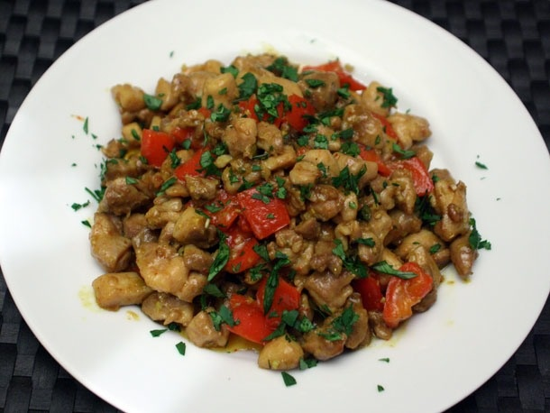 Chicken Stir-Fried with Lemongrass and Chile from Serious Eats. http ...