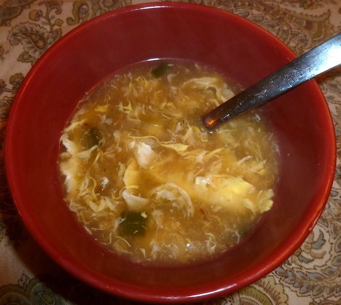 Easiest egg drop soup | Recipes | Pinterest