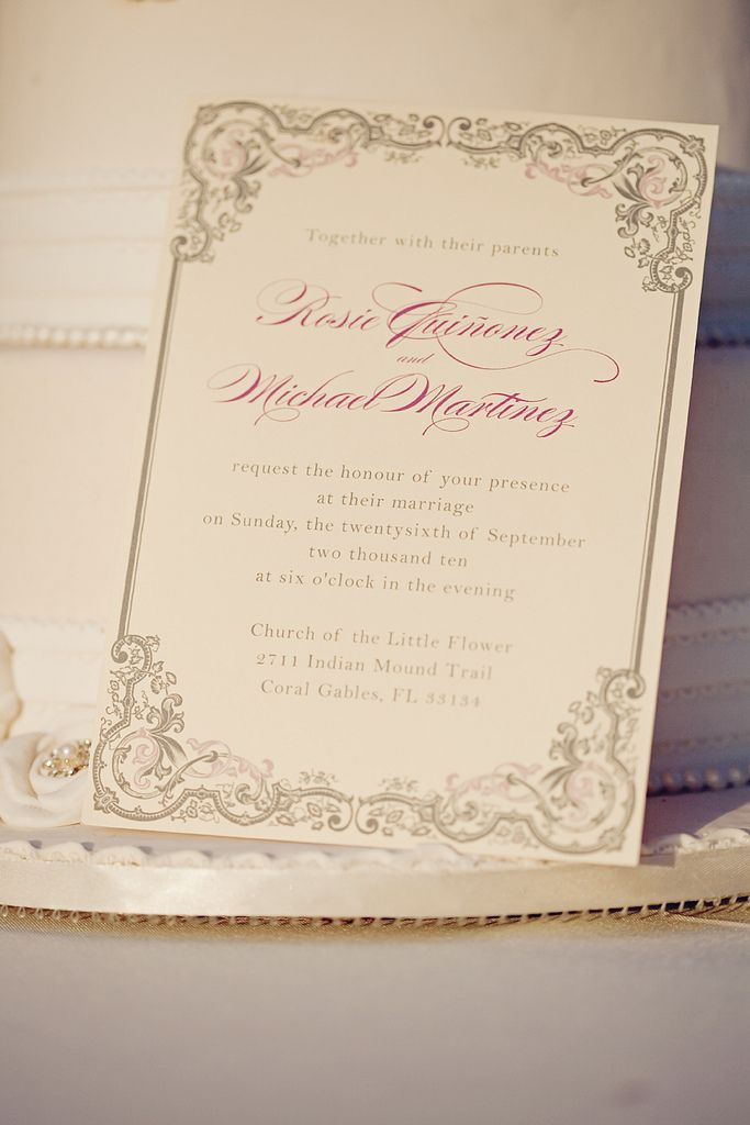 vintage romance wedding invitation wedding stationary pinterest