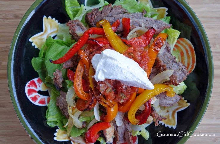 Gourmet Girl Cooks: Grilled Beef Fajitas w/ Chipotle Lime Marinade ...