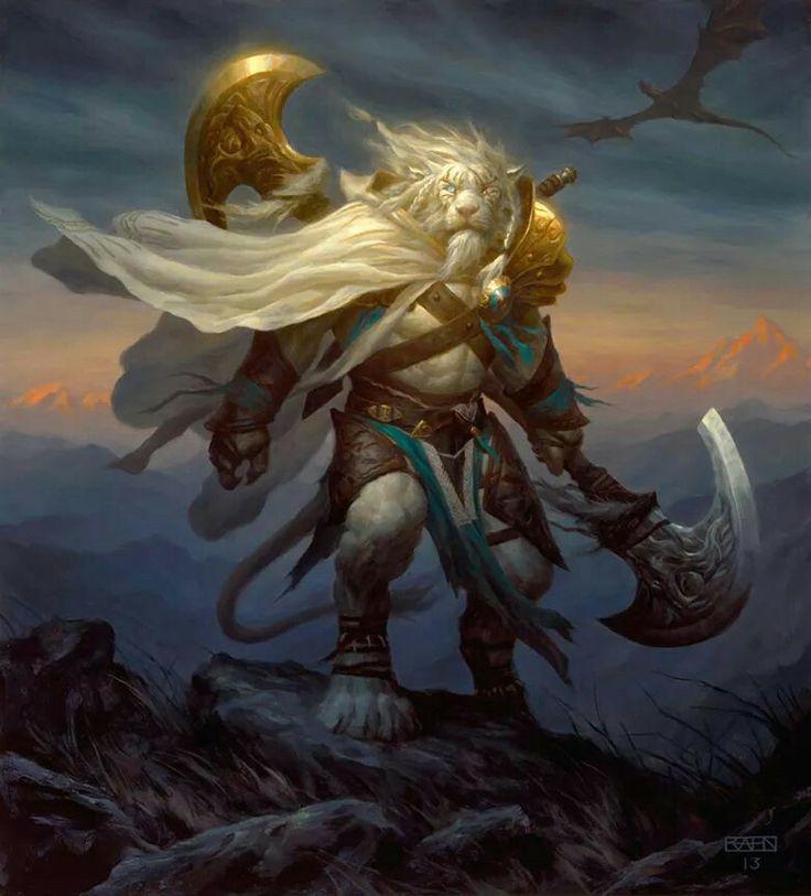 Ajani Goldmane | Fantasy (Races) | Pinterest