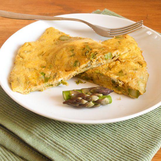 Asparagus frittata | Egg Recipes | Pinterest