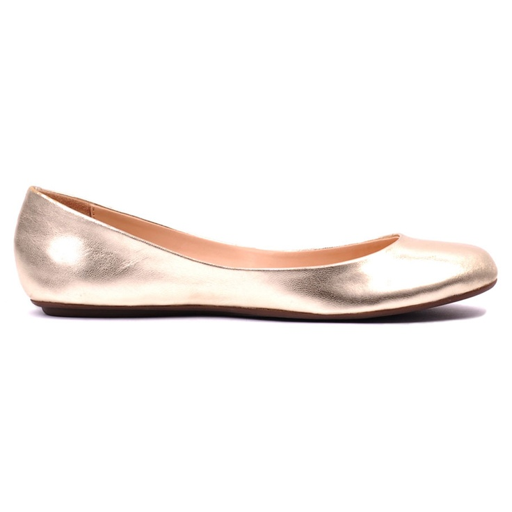Rose Gold Ballet Flat   Bridesmaid Ideas   Pinterest