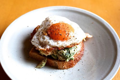 Tuna Nicoise Tartine, another fabulous egg recipe to try at home!
