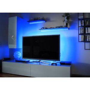 blue neon lights derek 39 s bedroom inspiration pinterest