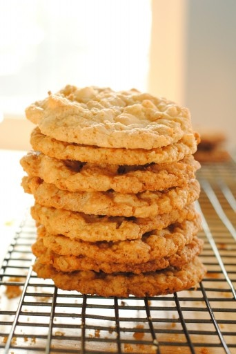 Coconut Oatmeal White Chocolate Cookies | Sweets & treats! | Pinterest
