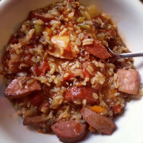 Wild Rice Jambalaya Recipe — Dishmaps