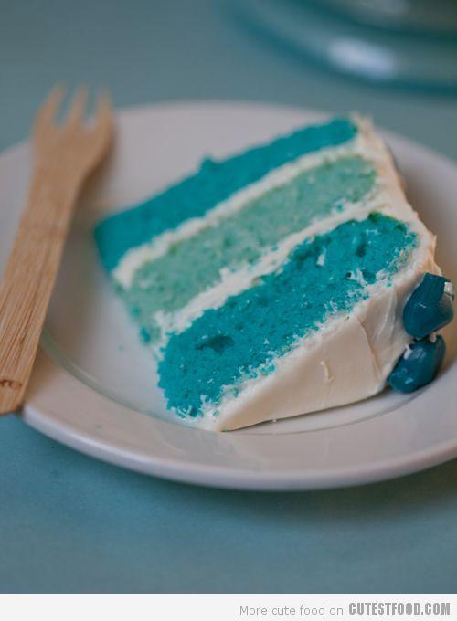 Vanilla Winter Cake | Tillies Birthday Cake | Pinterest