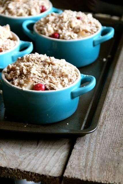 Pear & Cranberry Crisp | Recipe