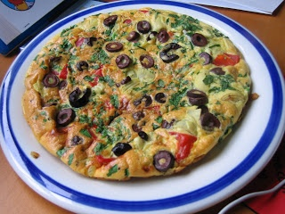 Roasted Red Pepper, Artichoke, Olive and Parmesan Frittata: Hello ...