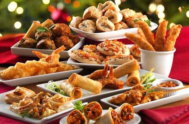 finger foods for a christmas party