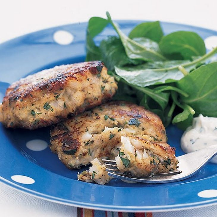 Lemon-Parsley Fish Cakes | Tchop!!! | Pinterest
