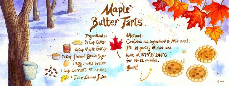 Maple Butter Tarts by Kim Fleming | Butter Tarts | Pinterest