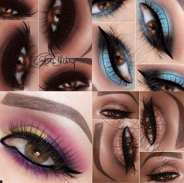 eyeshadow colors for brown makeup ideas for brown