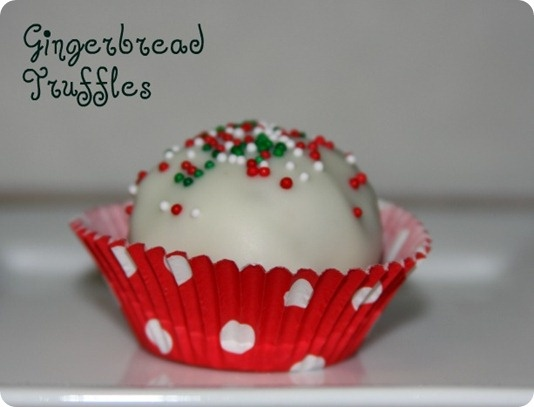 Gingerbread truffles | RSB Seasons Greetings | Pinterest