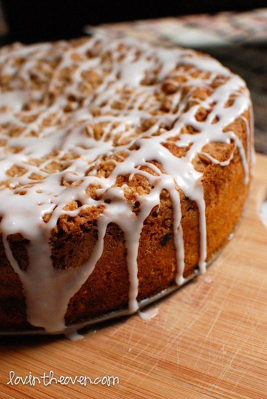 blueberry lemon coffee cake. lovin in the oven food blog