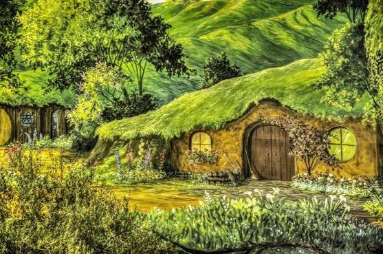 real life hobbit house middle earth pinterest
