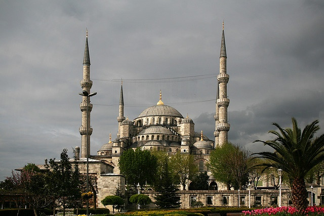 Sultan Ahmed Mosque, also known as the Blue Mosque, Istanbul, Turkey