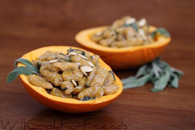 Gluten-Free Pumpkin Gnocchi with Creamy Brown Butter Sage Sauce