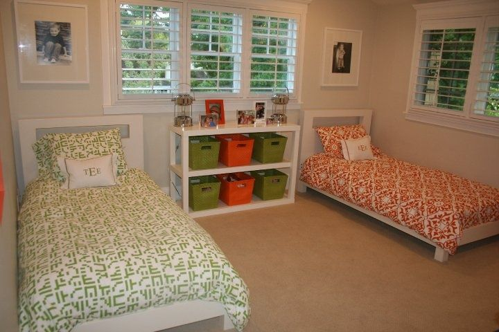 Pin by melissa salazar on shared spaces pinterest for Sibling bedroom ideas