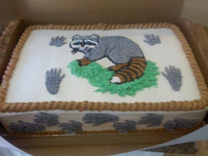 coon hunting cake ideas