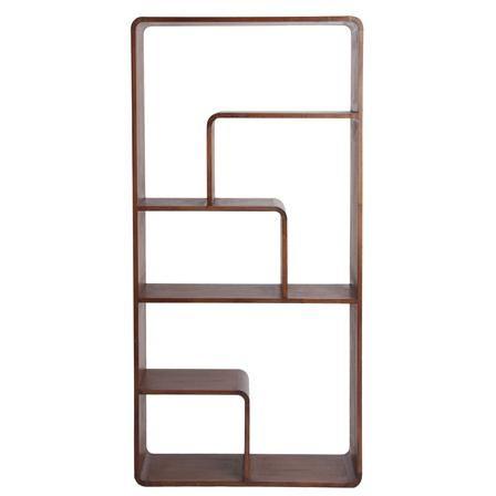 Geometric Bookshelf  For the Home  Pinterest