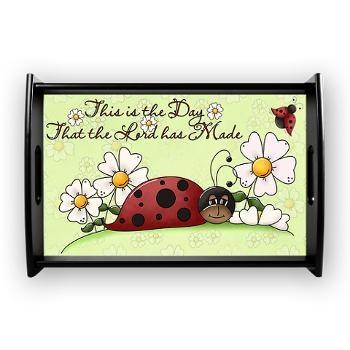 Ladybug Small Serving Tray