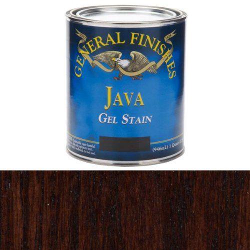 Java Gel Stain, Quart | fabulous furnishings | Pinterest