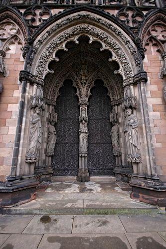 Gothic Doors Gothic Architecture Pinterest