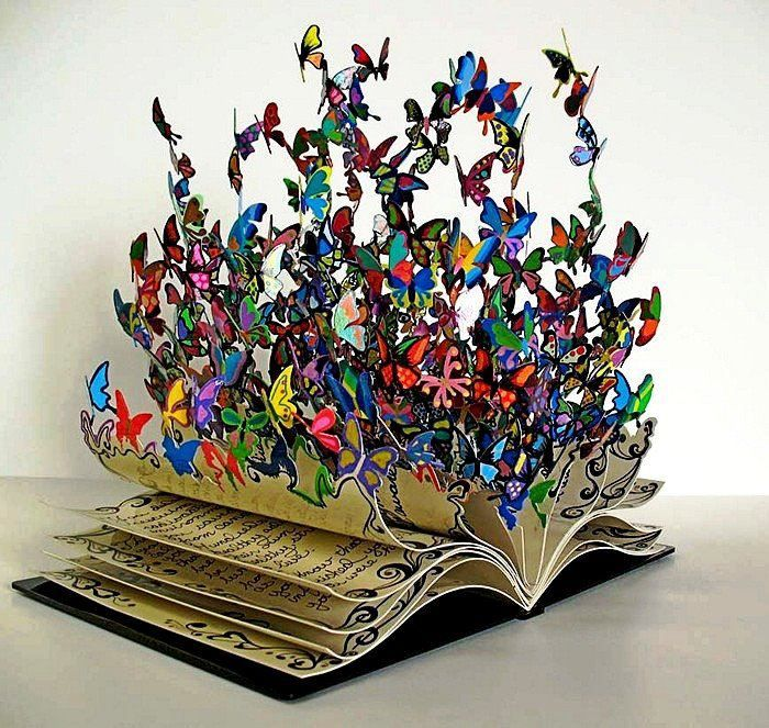 Butterflies paper art 1 000 words pinterest for Paper art butterfly