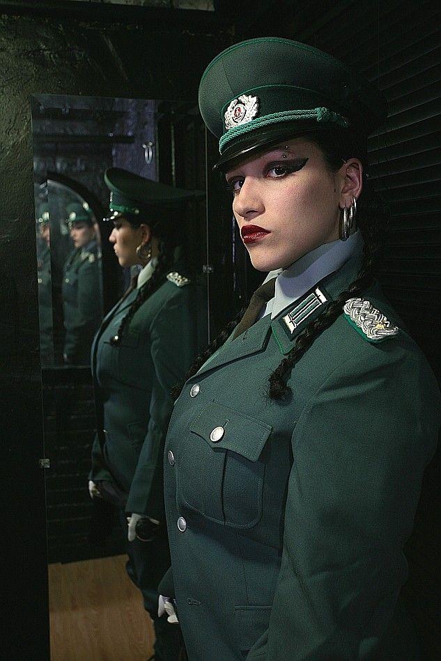 girls in nazi uniforms