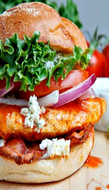 Buffalo Chicken Club Sandwich | feed me! | Pinterest