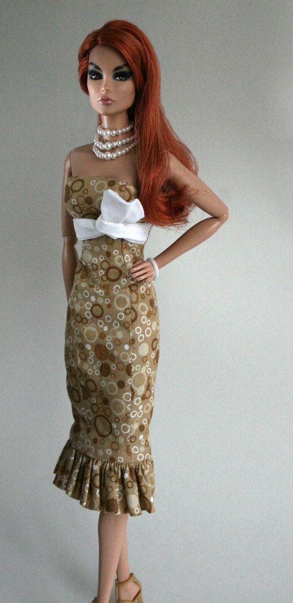 Summer Dress For Barbie Silkstone Or Fashion Royalty Doll