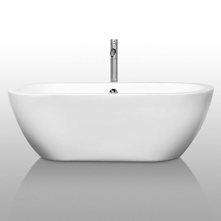 Wyndham Collection Soho Freestanding Soaking Bathtub  Overstock.com ...