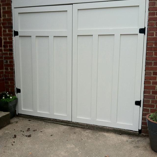 Build garage doors building carriage doors from scratch for Build carriage garage doors