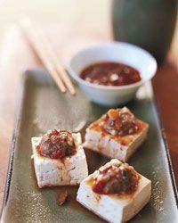 Plump Turkey-Stuffed Tofu Dumplings Recipe on Food & Wine (ma po tofu ...