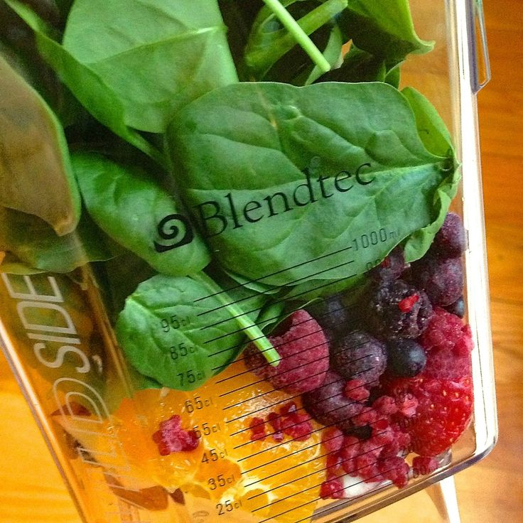 Smoothie Spinach - The Lemon Bowl: orange, banana, mixed berries ...