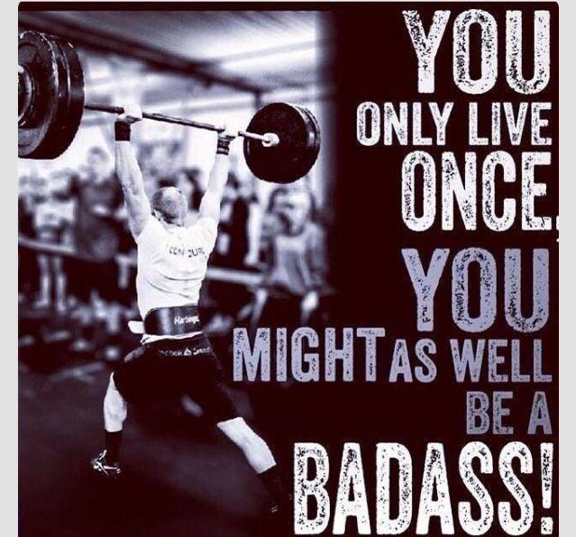 Badass Fitness Quotes Pinterest