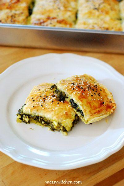 Spinach & Feta Cheese Borek | Food & Drink | Pinterest
