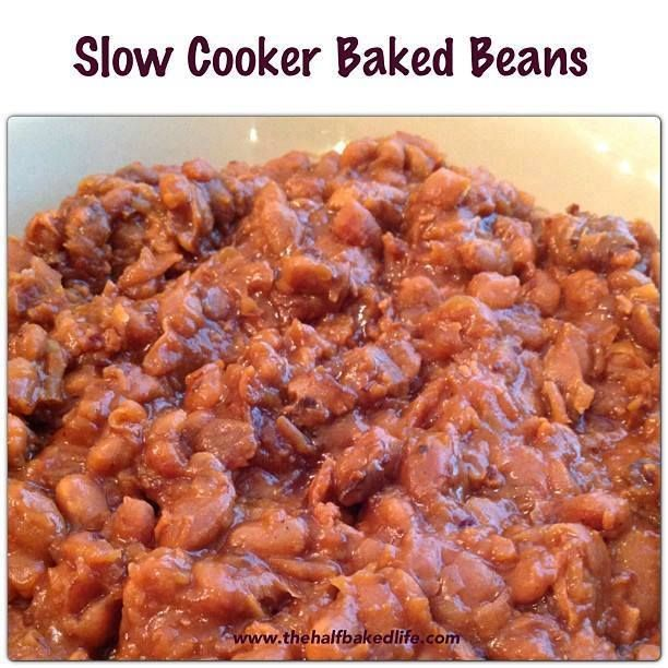 Slow Cooker Baked Beans   FOOD...   Pinterest