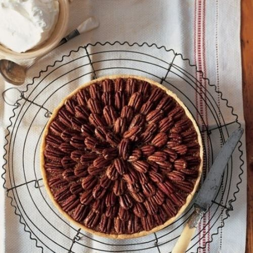 Sweet Deliverance Maple Bourbon Pecan Pie