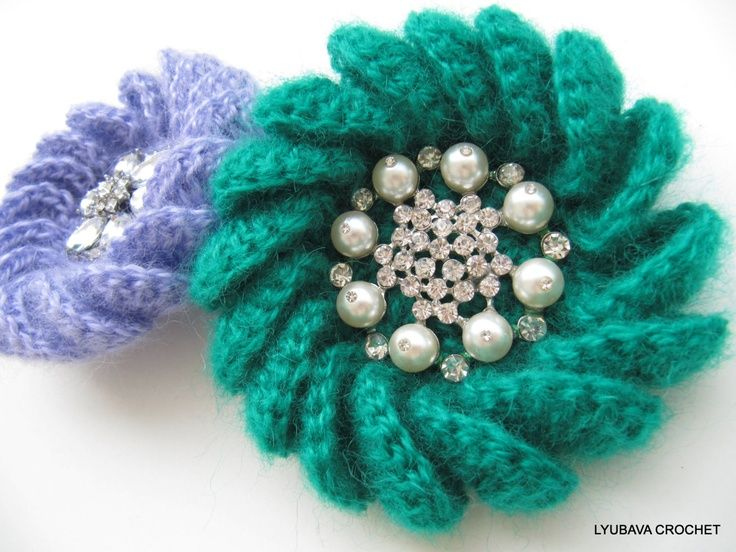 Crochet Patterns Unique : Unique+Crochet+Patterns PDF Crochet Brooch Pattern, Unique Crochet ...