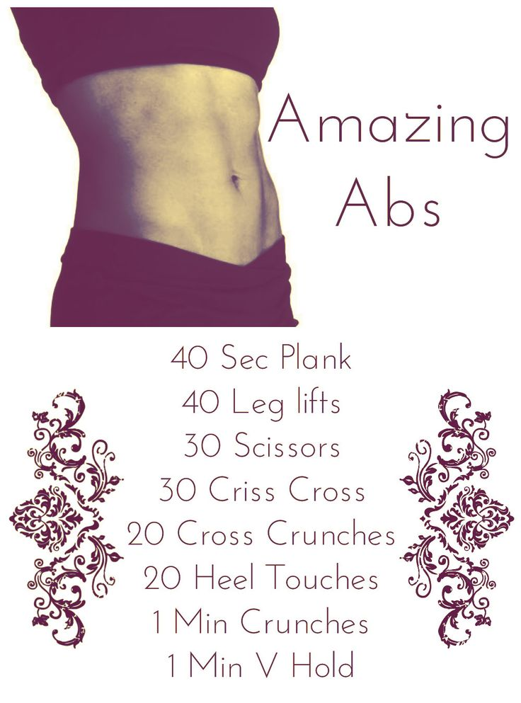 Pictures Of Easy Ab Workouts To Do At Home